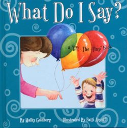 What Do I Say? A lift the flap book