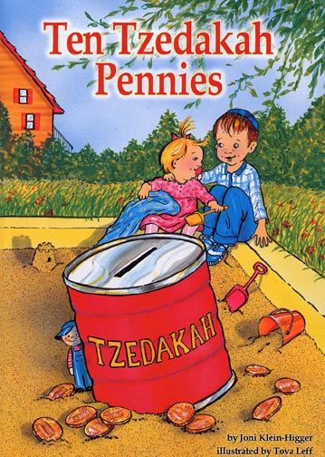 Ten Tzedakah Pennies